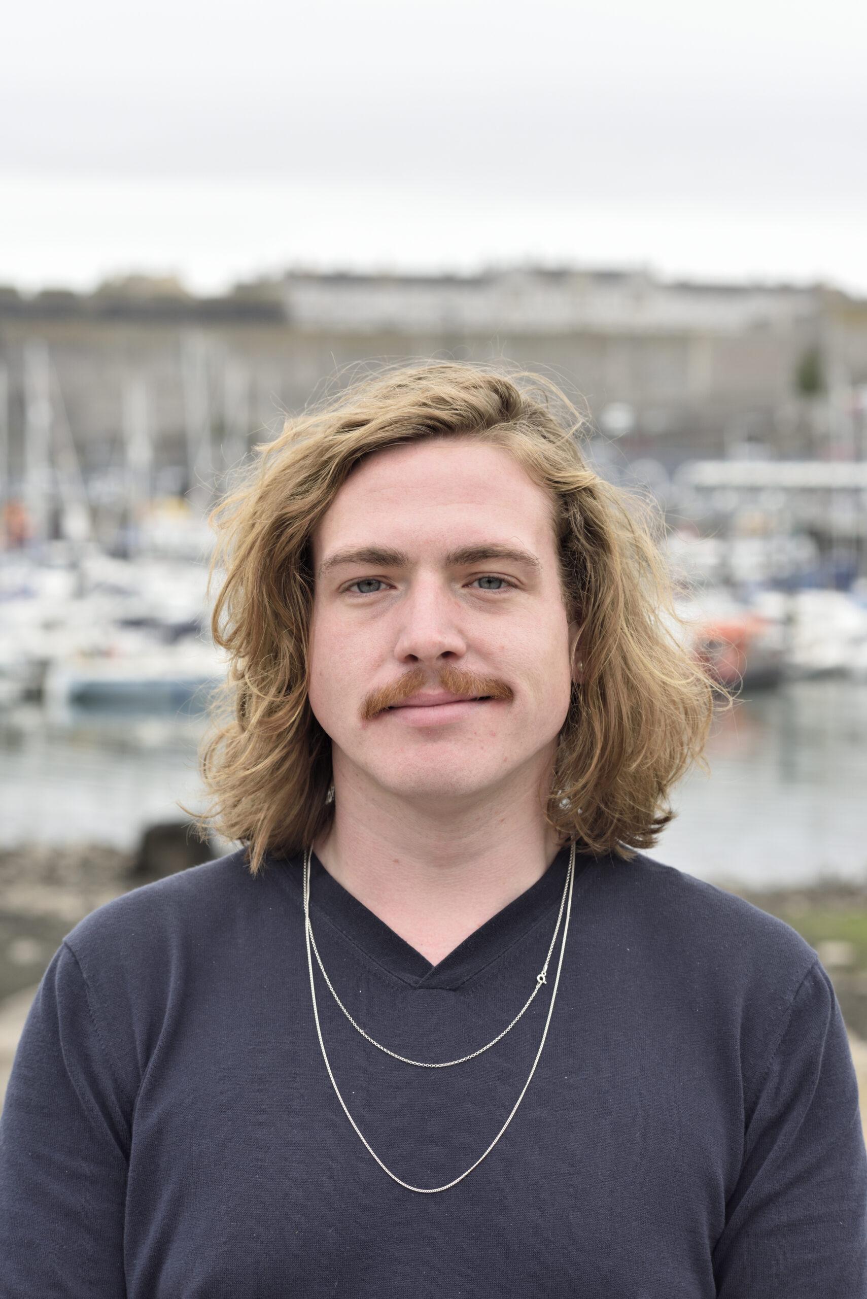 Portrait of Rhys Morgan